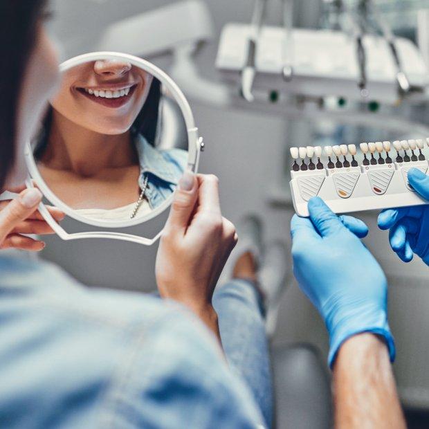 Záchovná stomatologie - dentální výplň